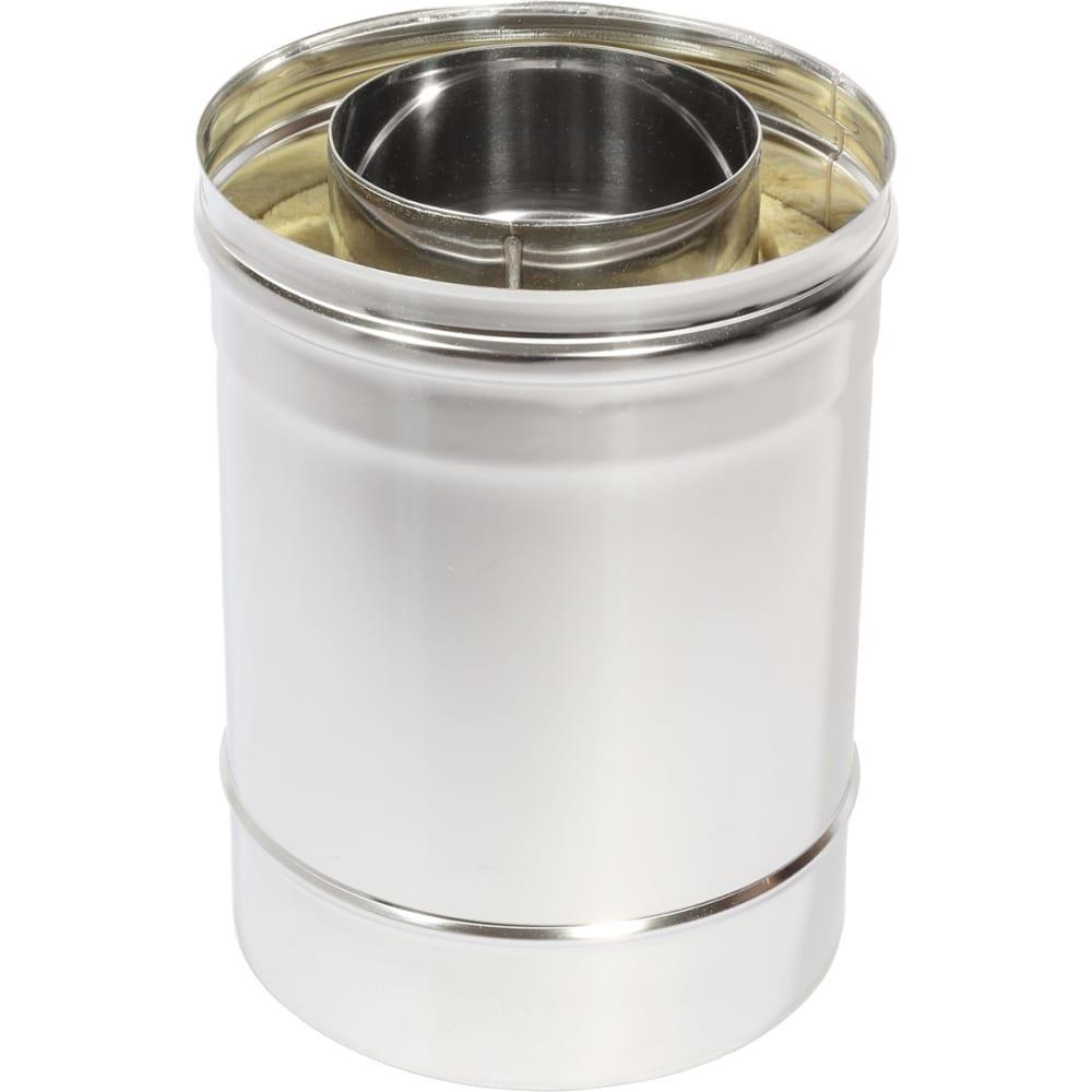 Купить Труба термо l 250 тт-р 304-0.8/304 d130/230 с хомутом тепловисухов ts.st5.trb.0130.38544