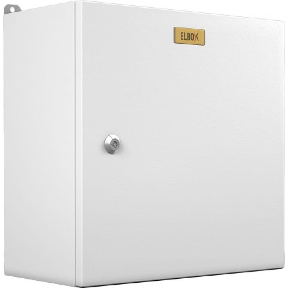 Электротехнический настенный шкаф цмо сплошная металлическая дверь серый emw-400.300.210-1-ip66