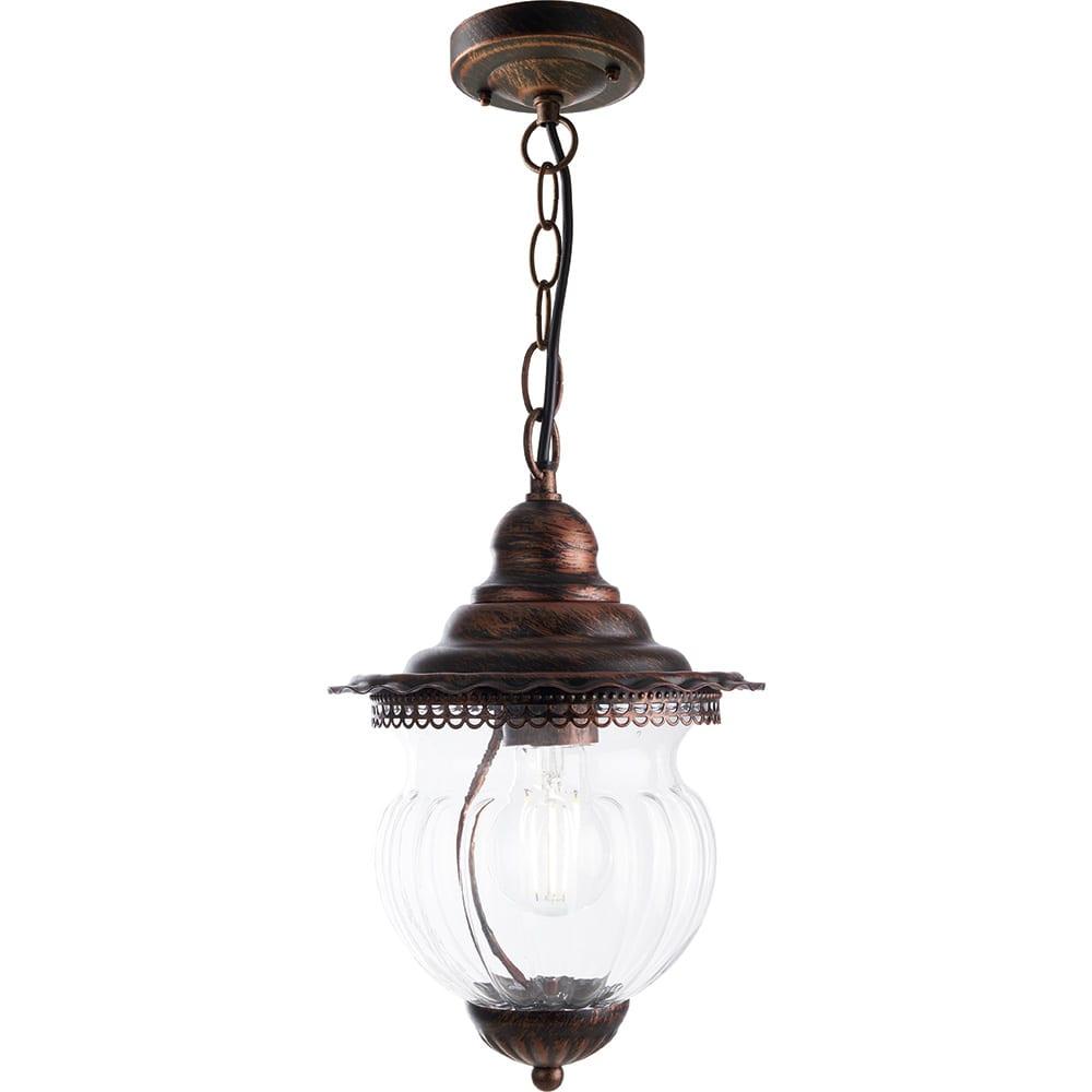 Купить Садово-парковый светильник feron pl595 60w, 230v, ip44, коричневый 41172