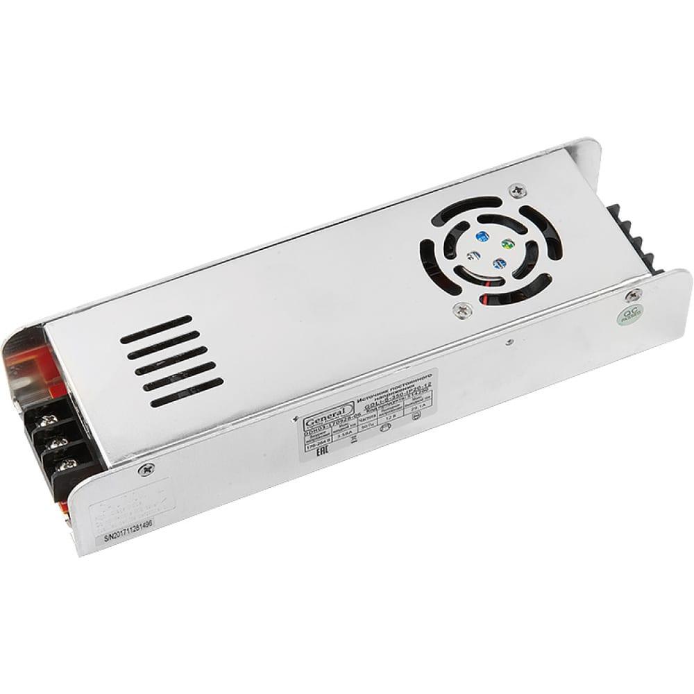 Купить Светодиодный драйвер general lighting systems gdli-s-350-ip20-12 514200