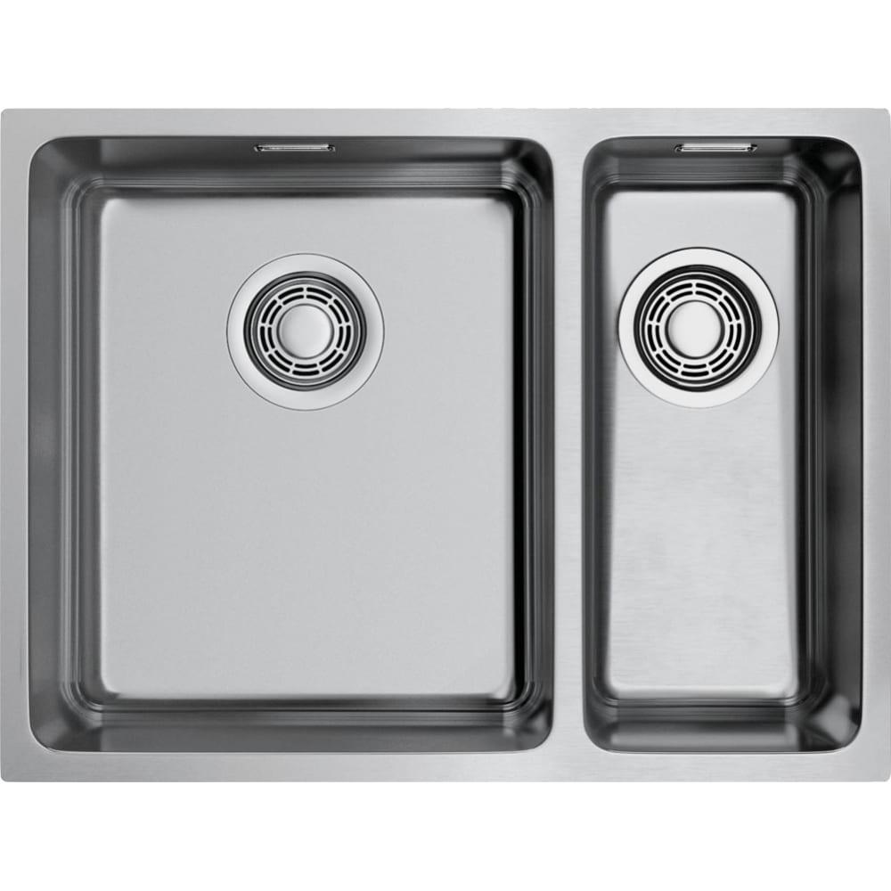 Купить Кухонная мойка omoikiri tadzava 58-2-u/if-in-l нержавеющая сталь/нержавеющая сталь 4993774