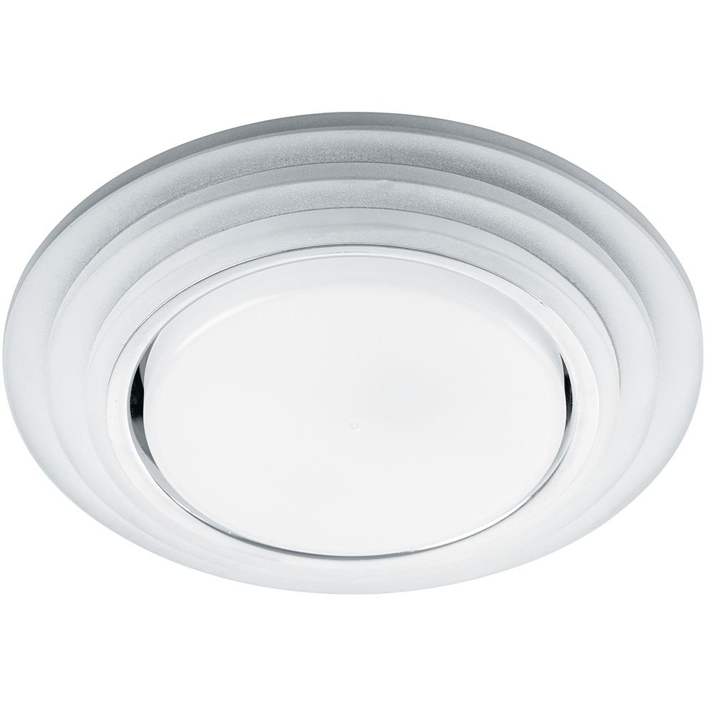 Купить Светильник feron cd5023 круг, 20ledх2835 smd, 4000k, 15w, gx53, без лампы, прозрачный, хром 40522