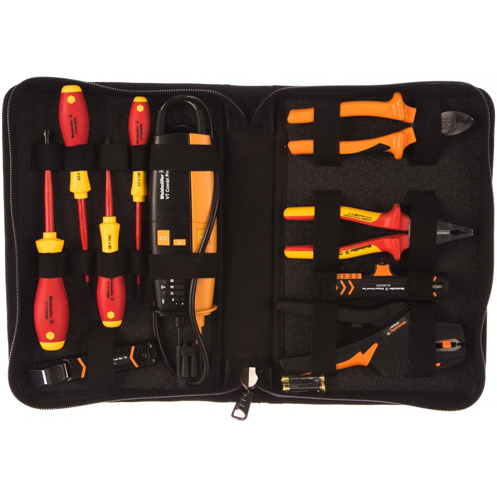 Набор электромонтажного инструмента weidmuller p bag xl set 13 2602230000