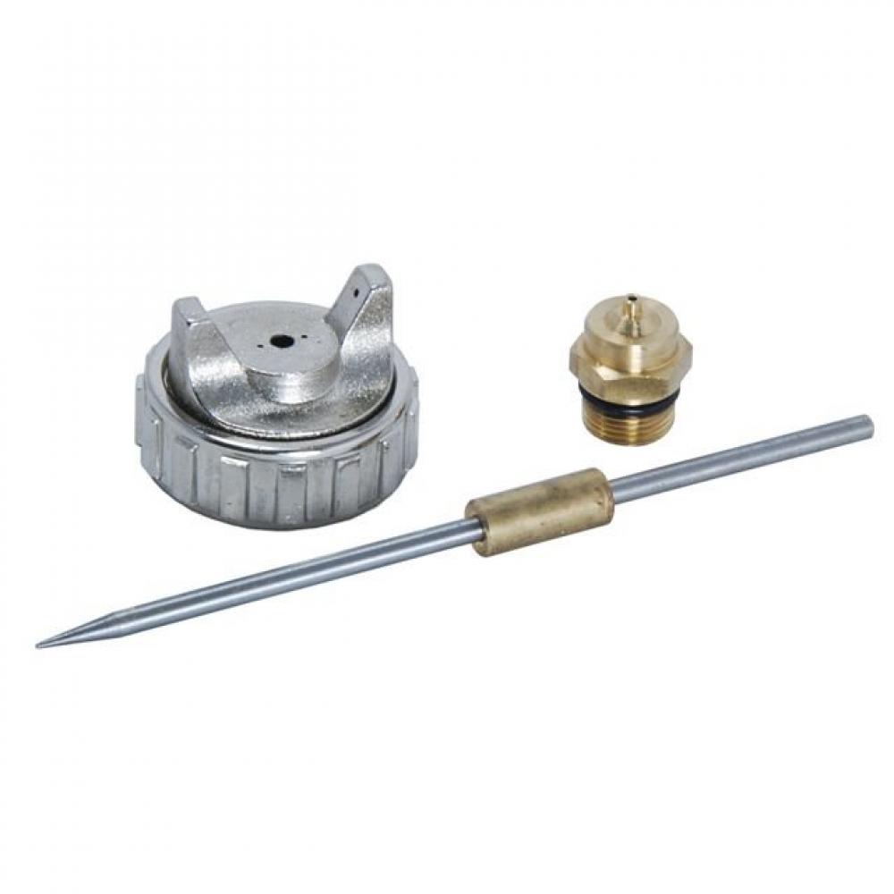 Купить Комплект сменный (игла; дюза 1.3 мм; голова) для краскопульта 990 серии русский мастер рм-84837