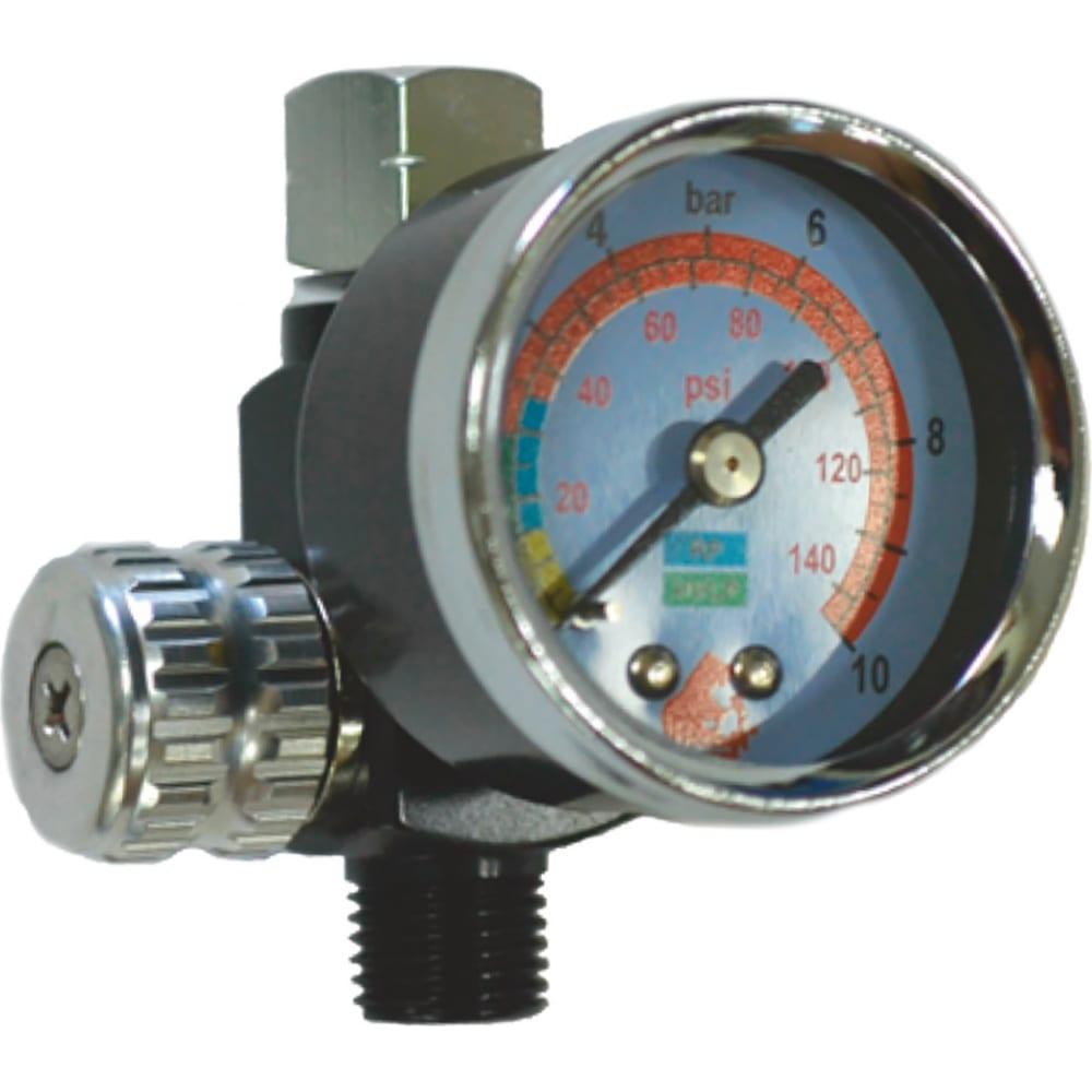Купить Регулятор давления с манометром для краскопульта русский мастер рм-87326