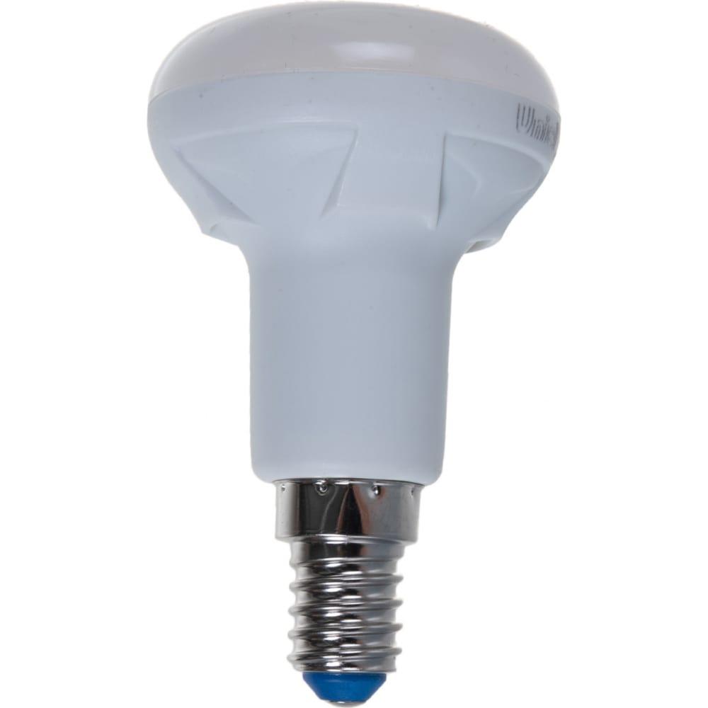 Лампа uniel led-r50, 7w/3000k/e14/fr/dim, plp01wh, светодиодная, диммируемая ul-00004710
