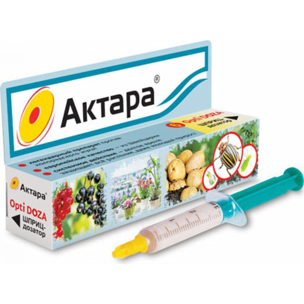Купить Инсектицид ваше хозяйство актара opti doza против тли, белокрылки, 6мл 4680028943891