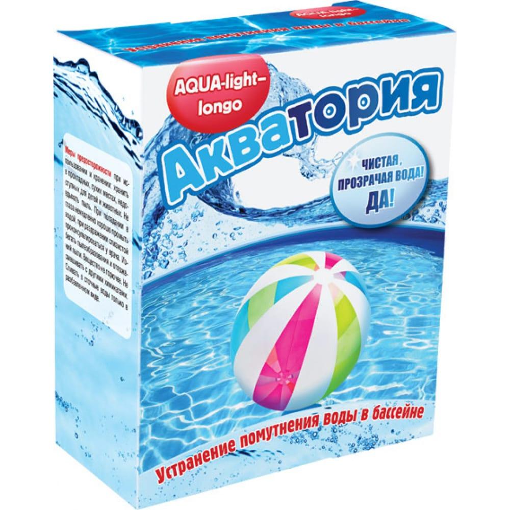 Купить Гранулы для осветления воды в бассейне ваше хозяйство акватория 4 картриджах по 125 г 4620015696201
