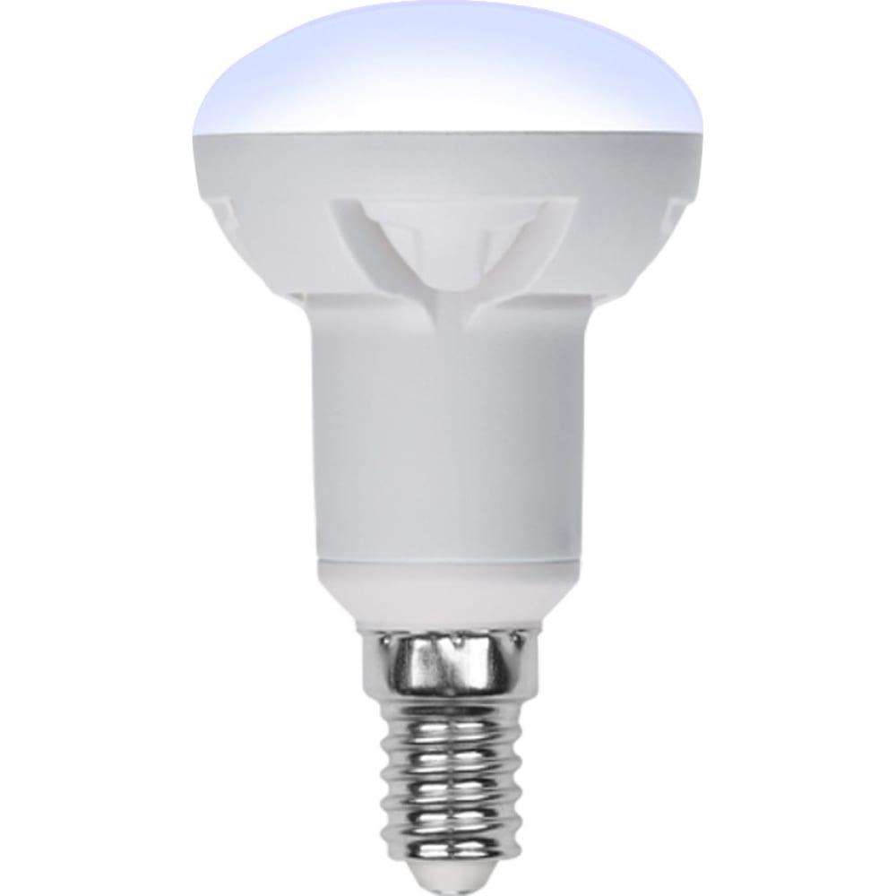 Лампа uniel led-r50, 7w/4000k/e14/fr/dim, plp01wh, светодиодная, диммируемая ul-00004709