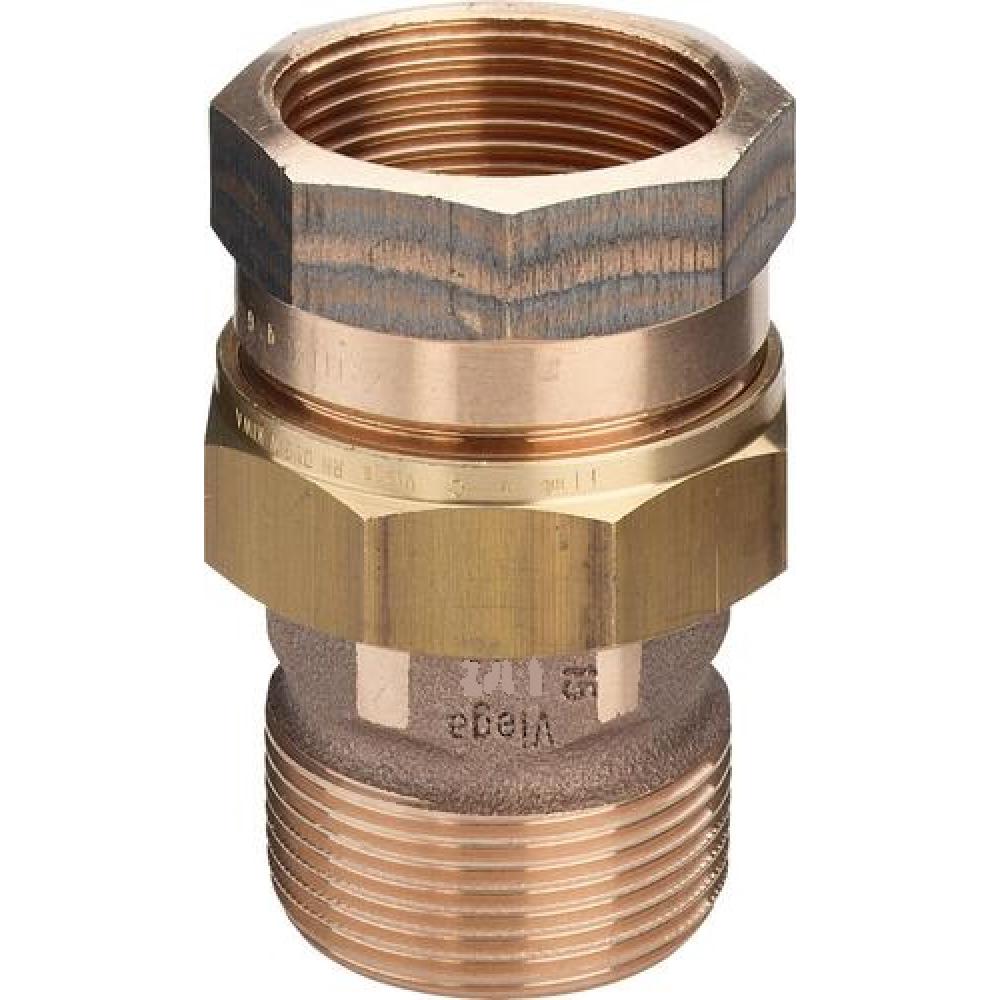 Разъемное соединение viega 1 1/4 вр-нр, бронза 271343  - купить со скидкой