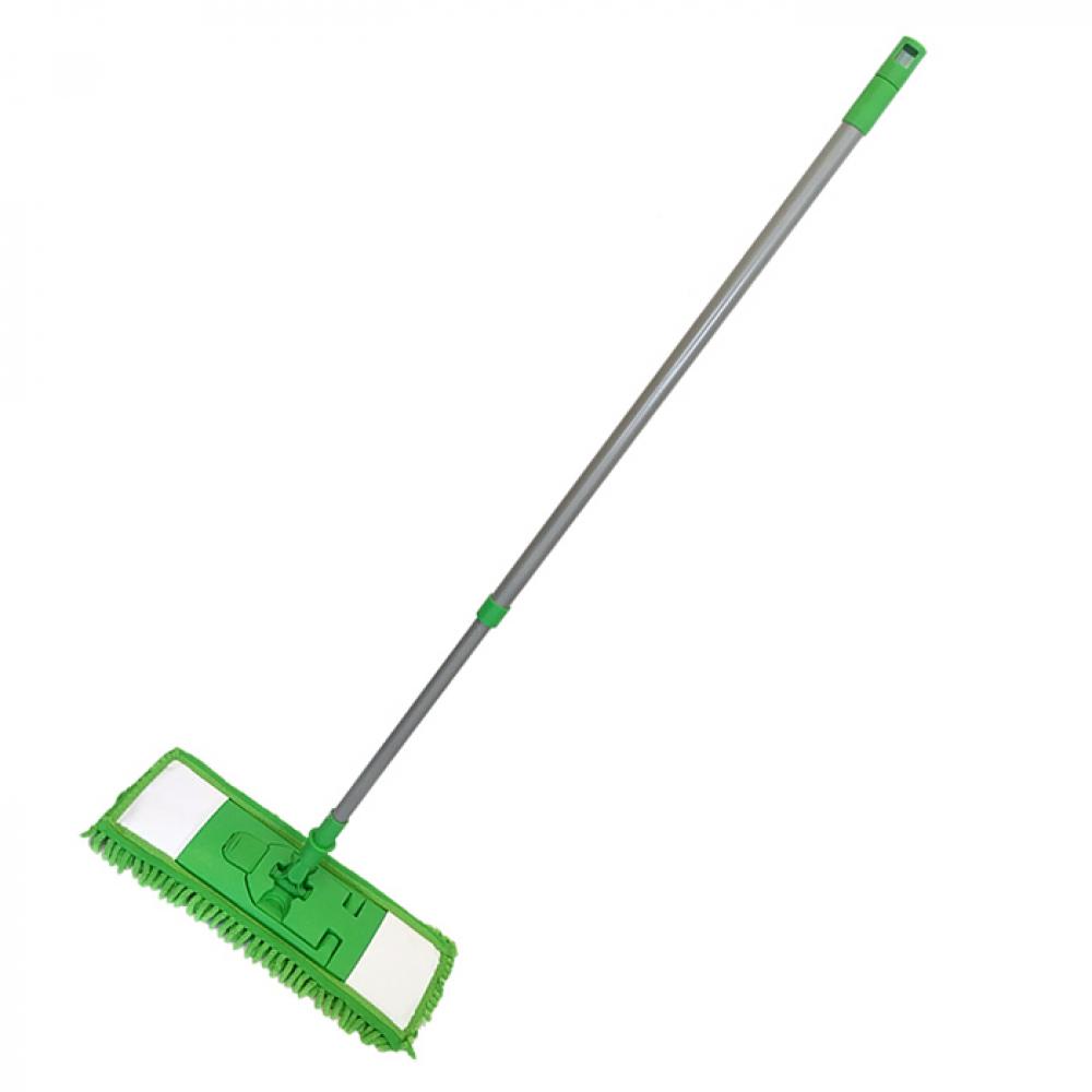 Купить Швабра умничка флеттер зеленая kd-8118-g