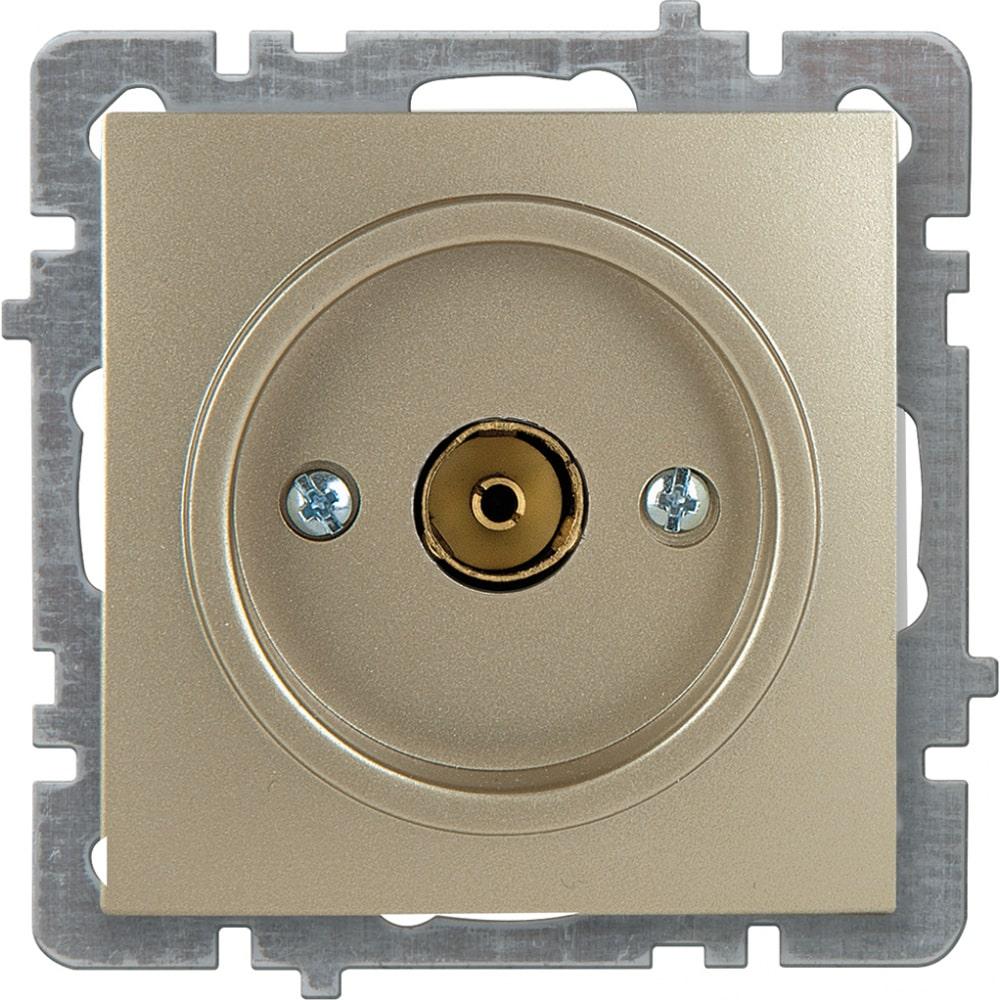 Механизм розетки nilson 1сп тв конечный золото touran/alegra metallic 24150429