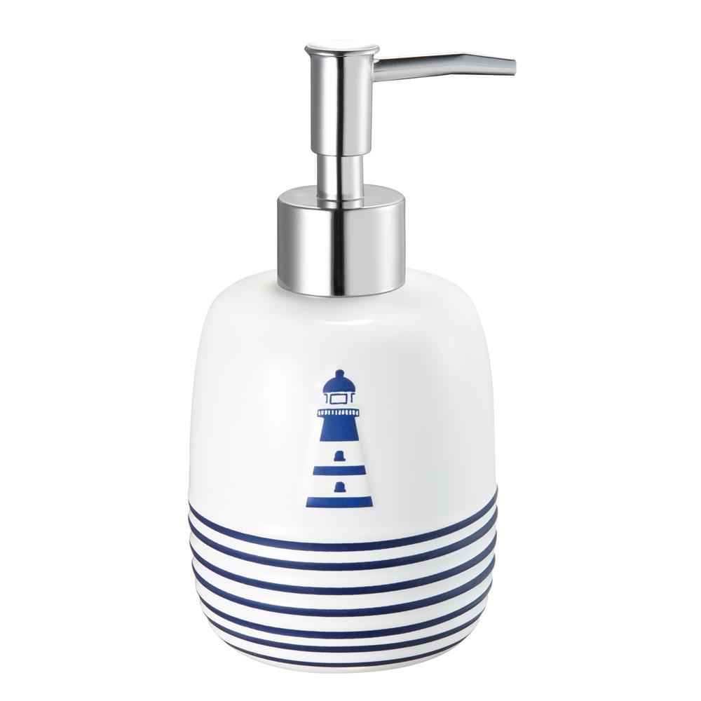 Купить Дозатор fora для жидкого мыла, настольный, керамика, royal navy for-rn021