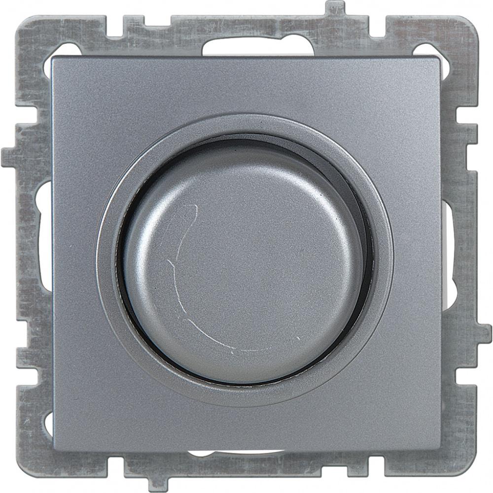 Механизм выключателя-светорегулятора nilson led су 30-300 вт, touran-alegra-thor, серебро 24130478