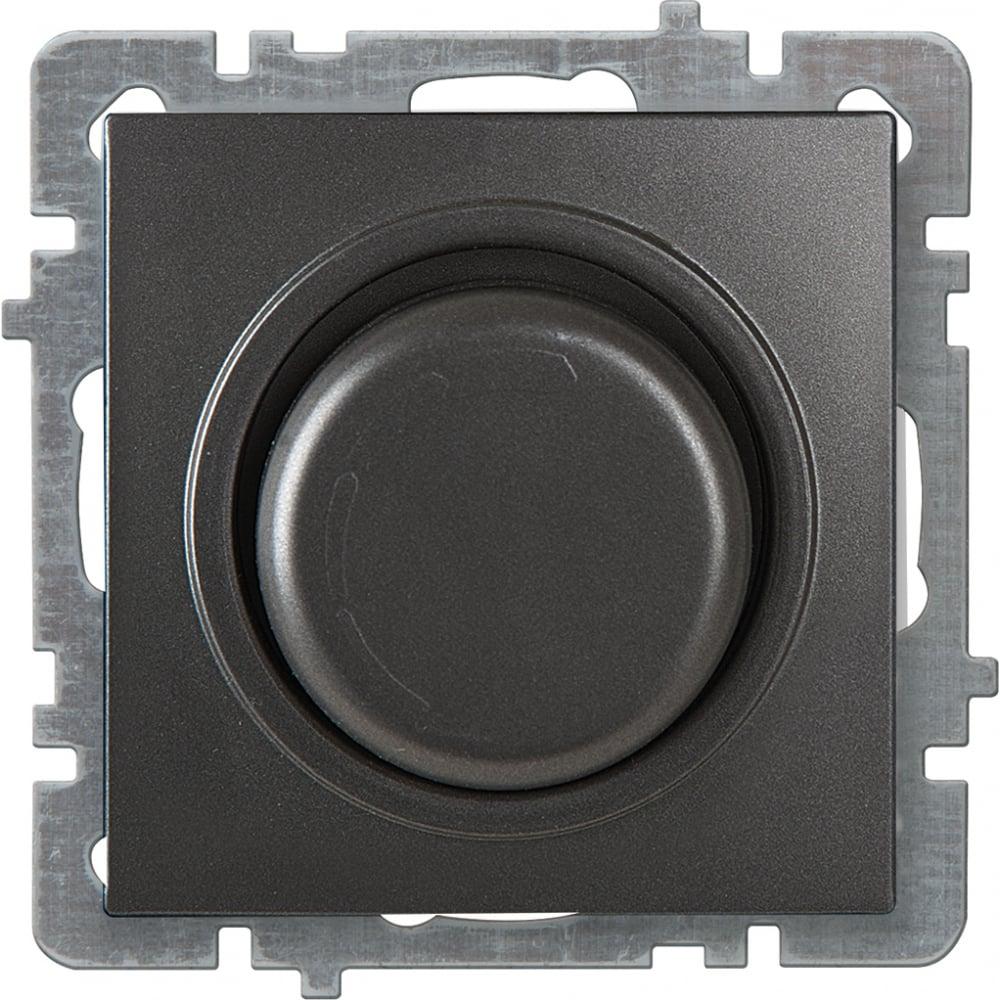 Механизм выключателя-светорегулятора led nilson су 30-300 вт, touran-alegra-thor, антрацит 24160478