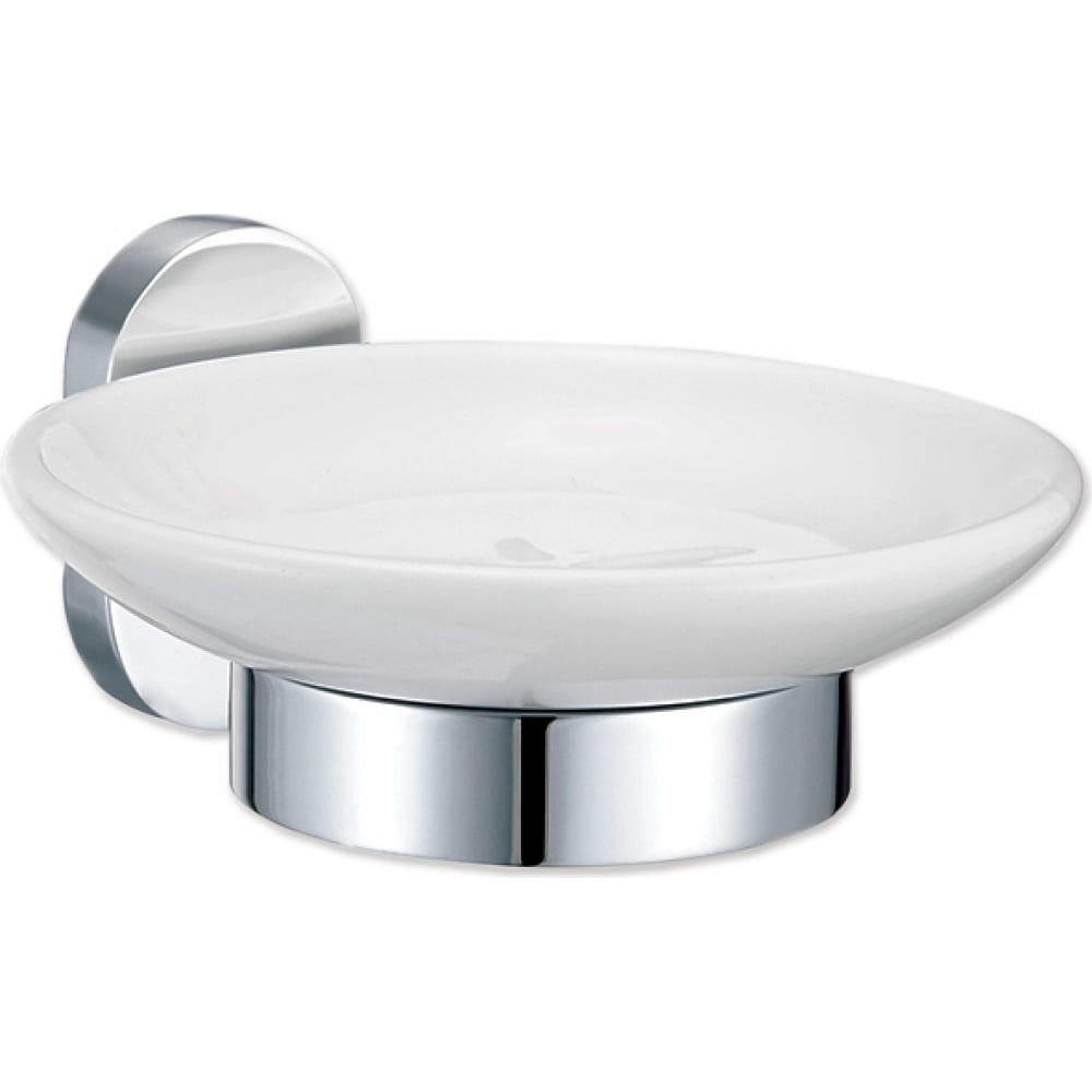 Мыльница fora для ванной керамика brass br036