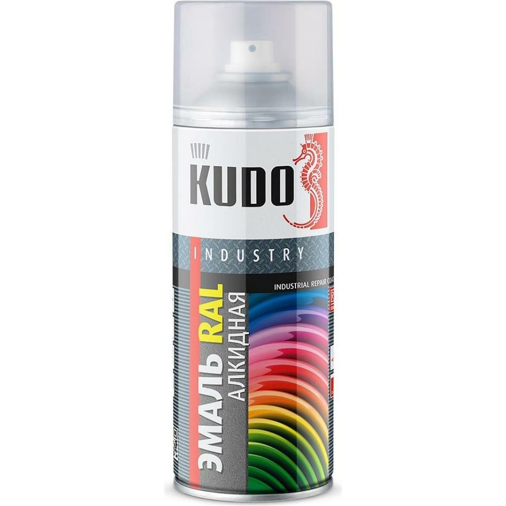 Купить Универсальная эмаль kudo аэрозоль серое стекло 520мл ral7040 11604886