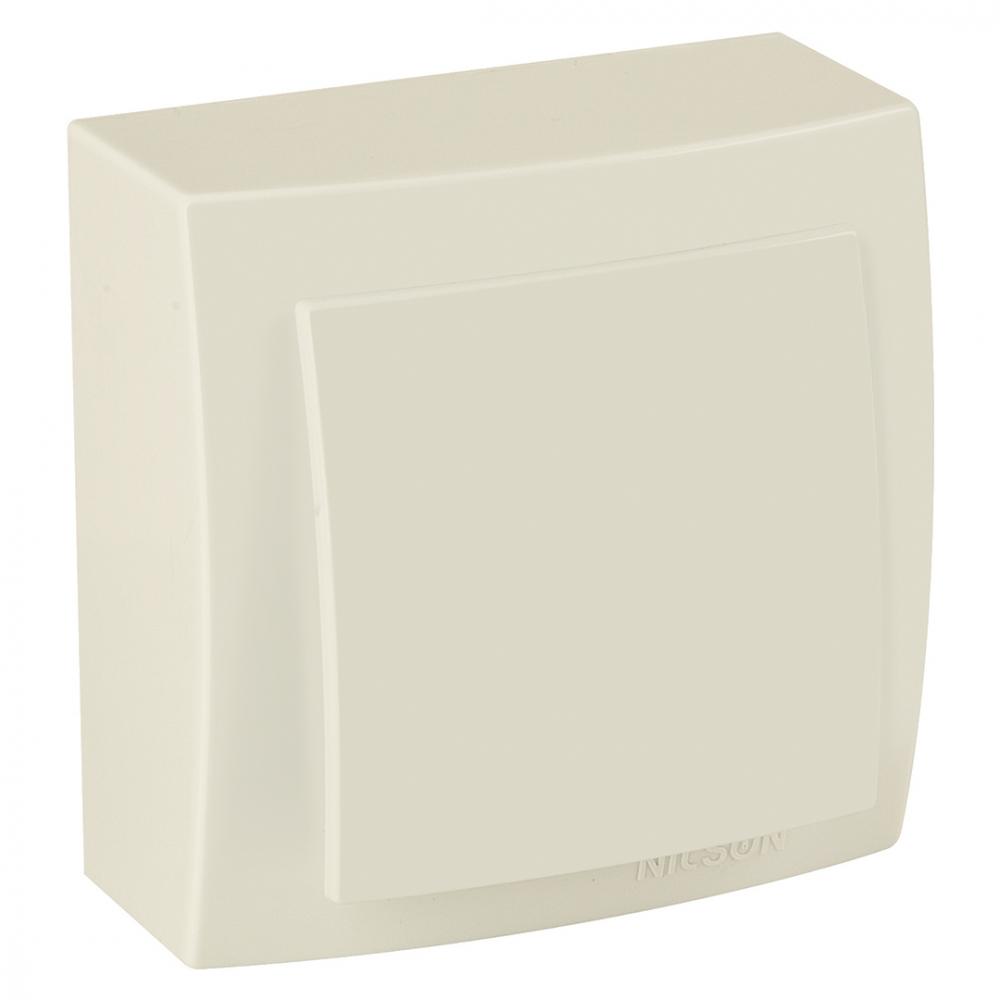 Выключатель nilson 1оп крем themis naturel 26121001