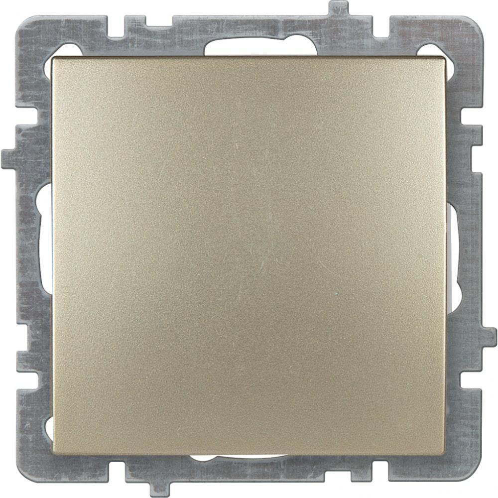 Механизм выключателя nilson 1сп золото touran/alegra metallic 24150401