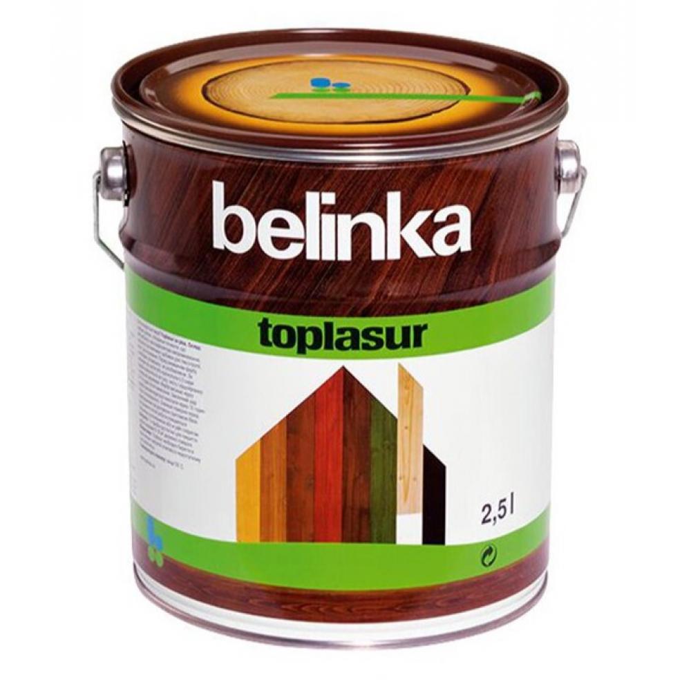 Купить Лазурное покрытие для защиты древесины belinka toplasur 23 махагон 2, 5л 51373