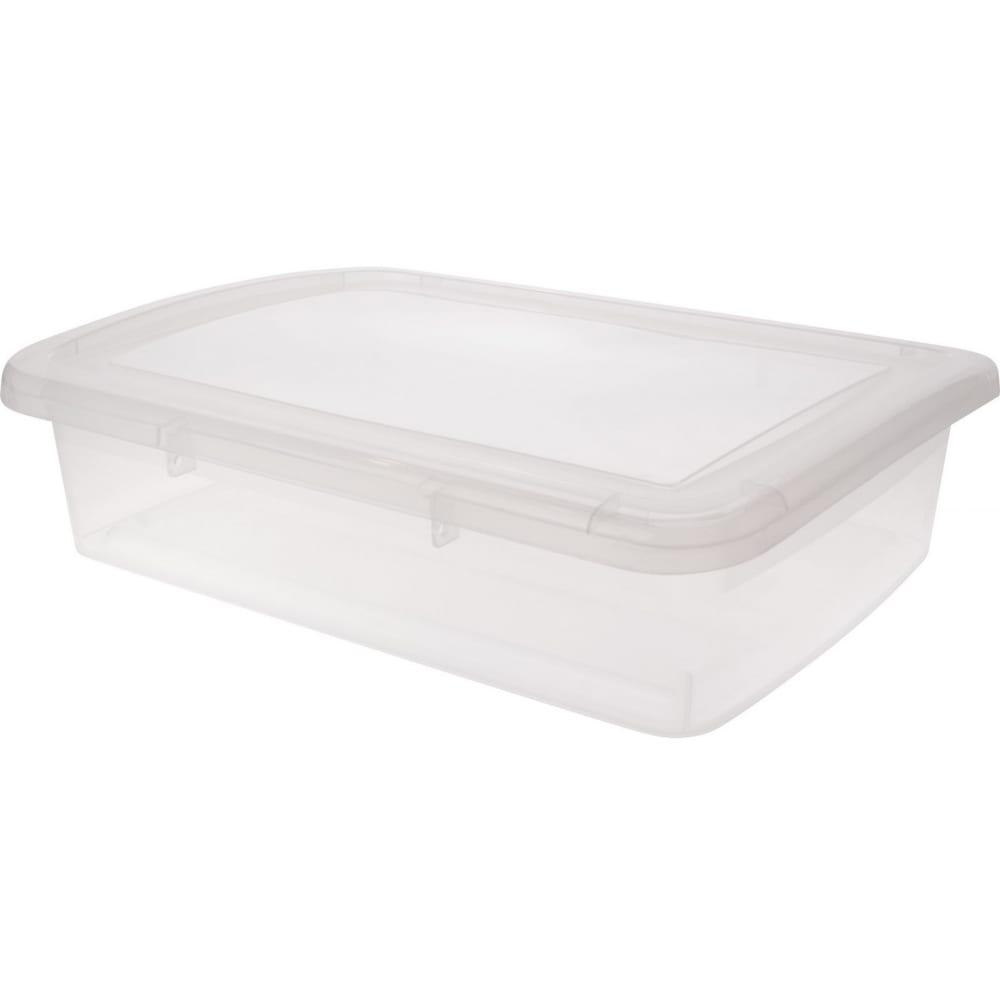 Ящик дляхранения branq laconic 5 л прозрачный bq2501пр  - купить со скидкой