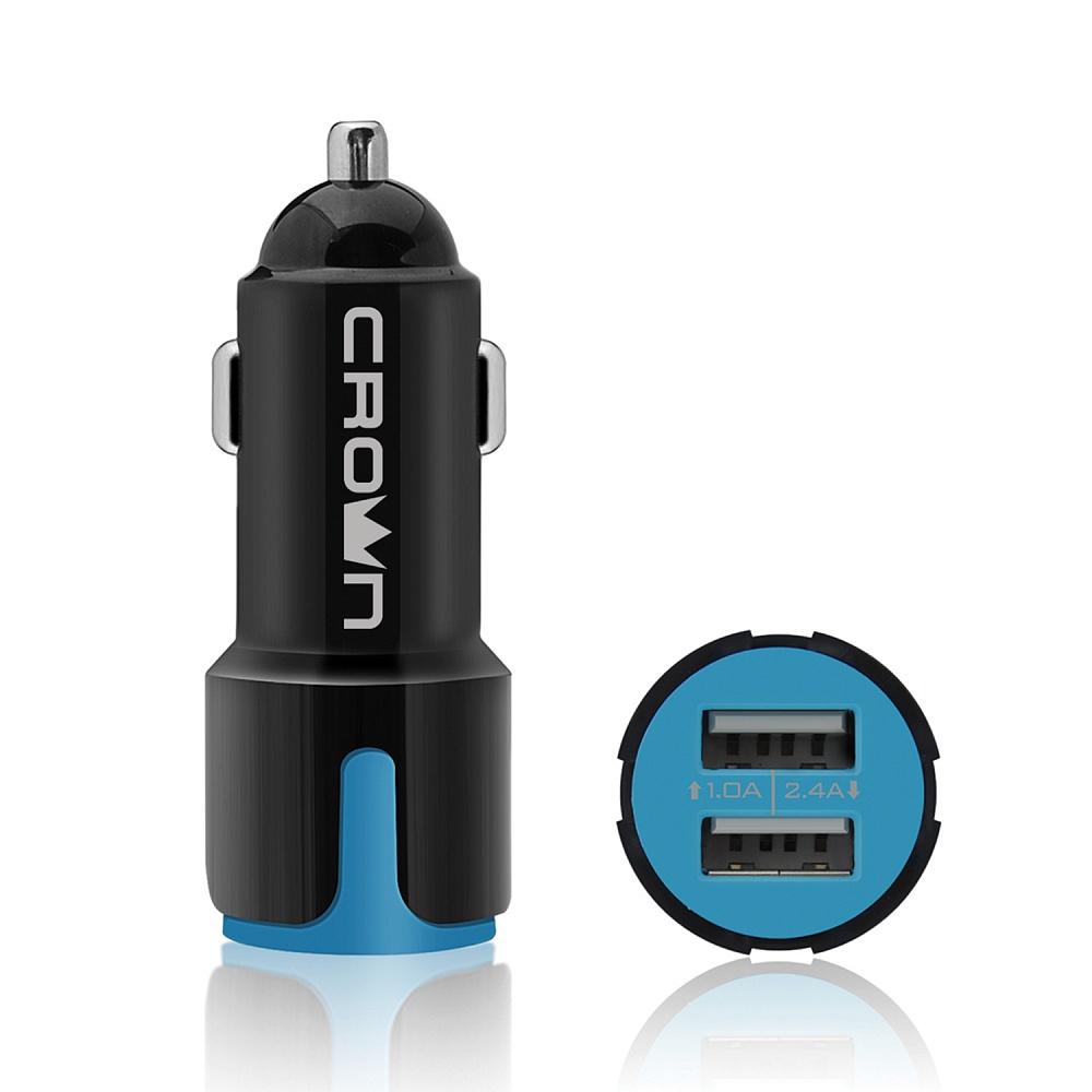 Купить Универсальное автомобильное зарядное устройство crown cmcc-3021 cm000002078