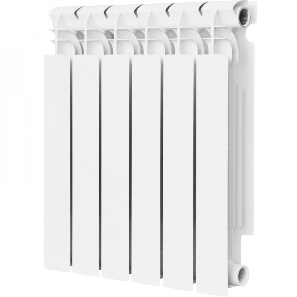 Купить Биметаллический радиатор remsan expert рбс-500/100 6 секций, 1098 вт 453536