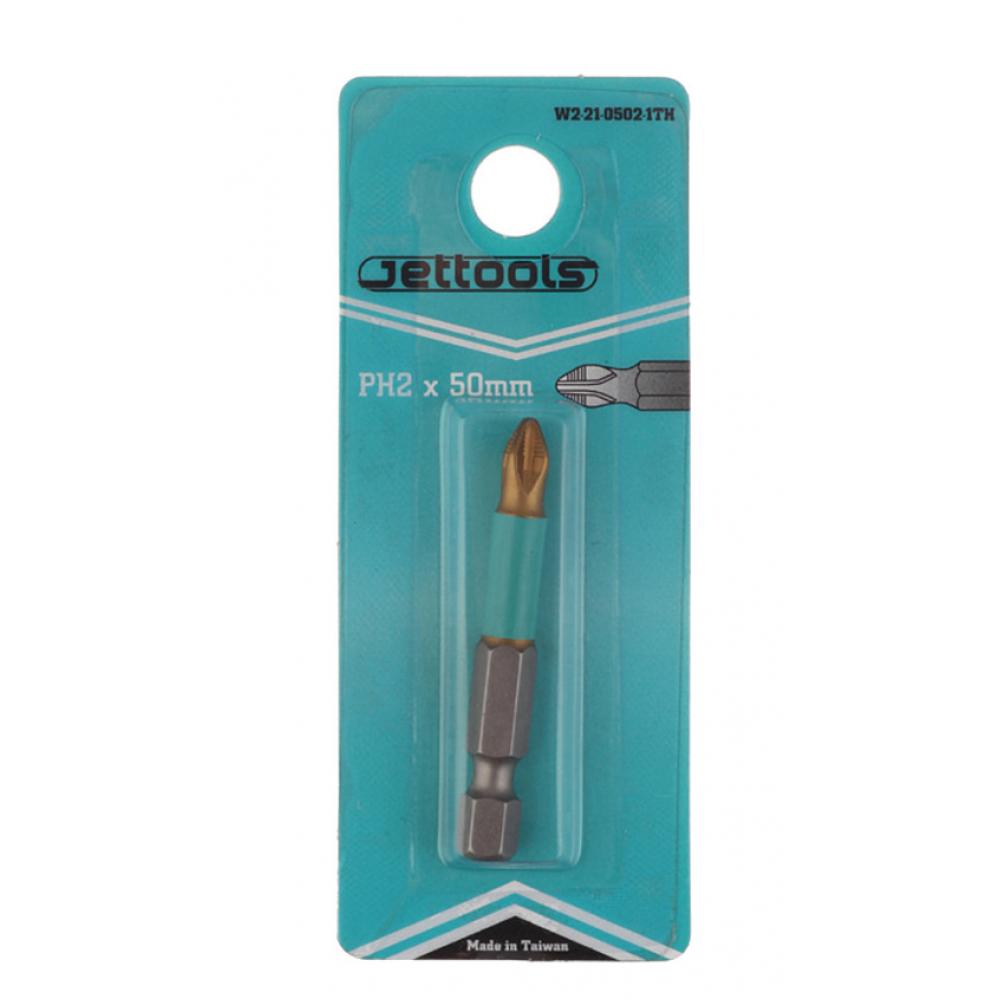 Купить Насадка магнитная с покрытием tin-half (50 мм; ph2) jettools w2-21-0502-1th