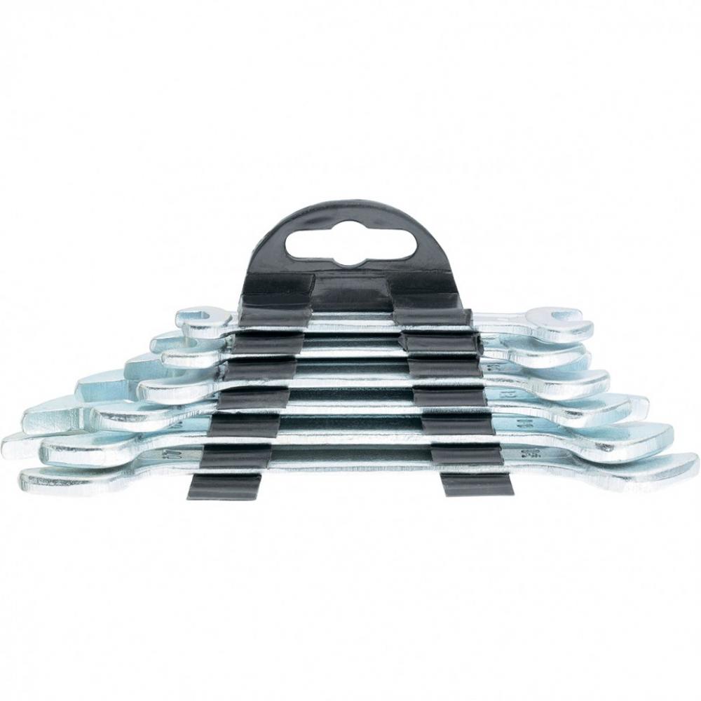 Набор рожковых ключей sparta 6x17 мм, 6 шт., хромированные 152305  - купить со скидкой