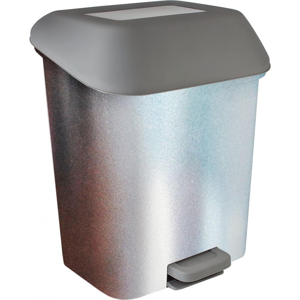 Купить Контейнер для мусора с педалью svip декор металл 15 л sv4160мтл