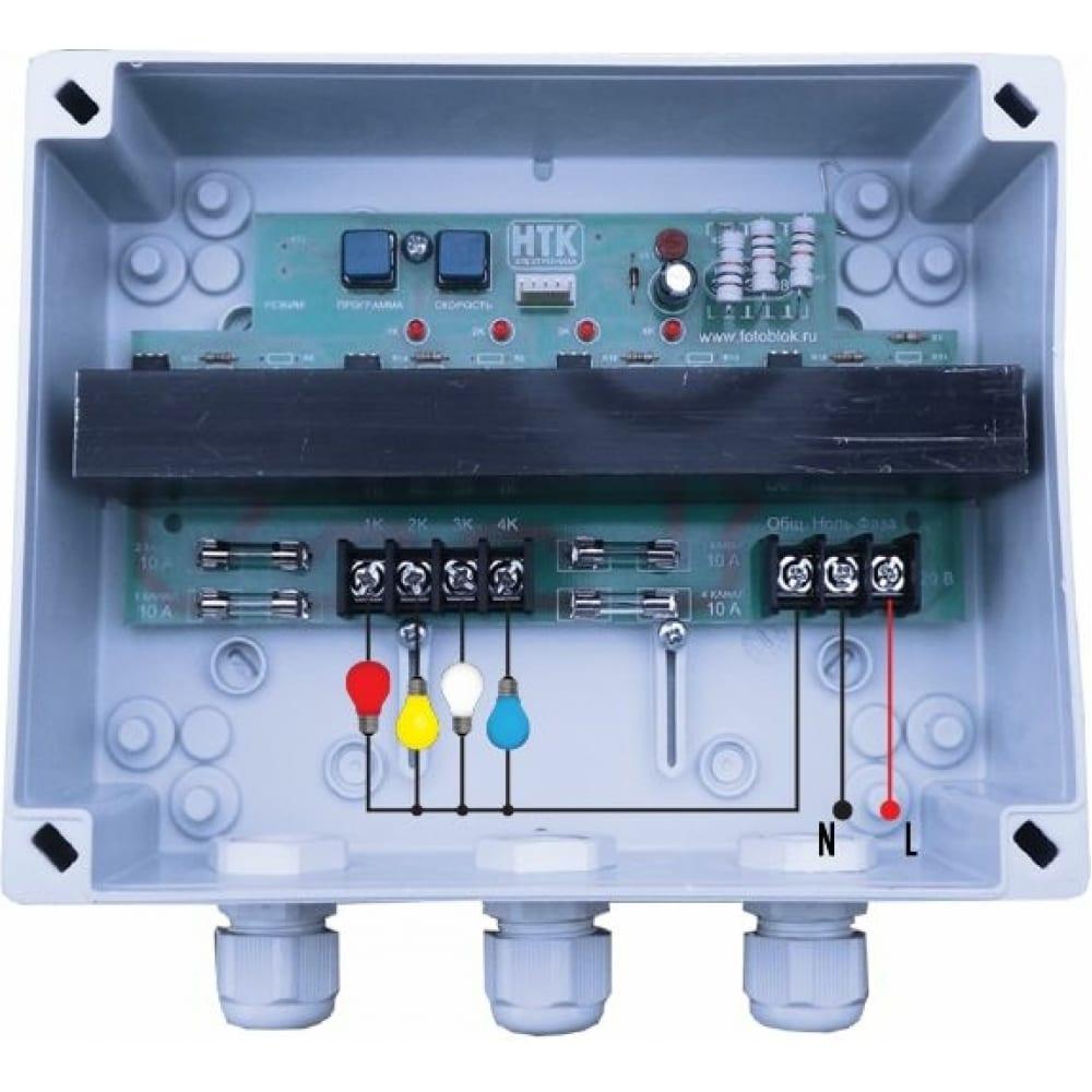 Светоконтроллер нтк электроника эксэ-408 40а/ip56 4627082400236