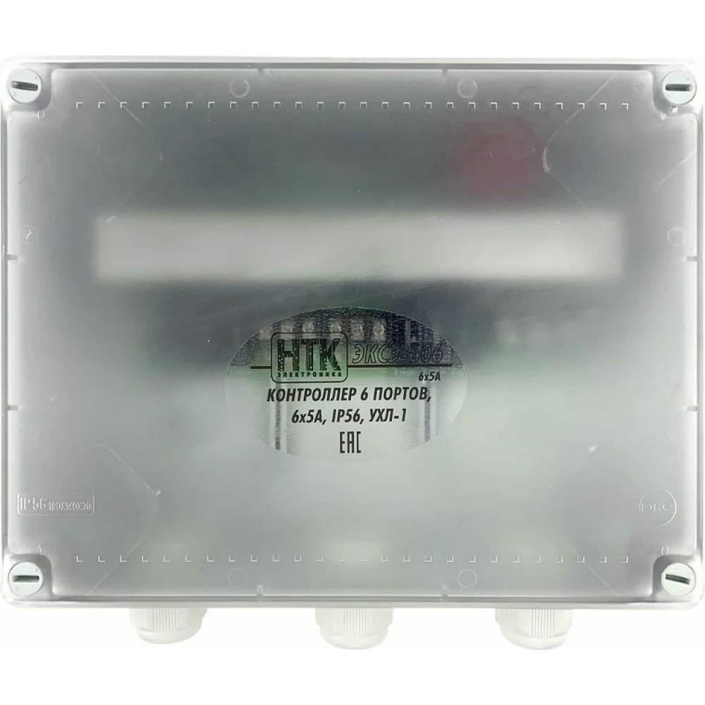 Светоконтроллер нтк электроника эксэ-606 30а/ip56 4627082400243