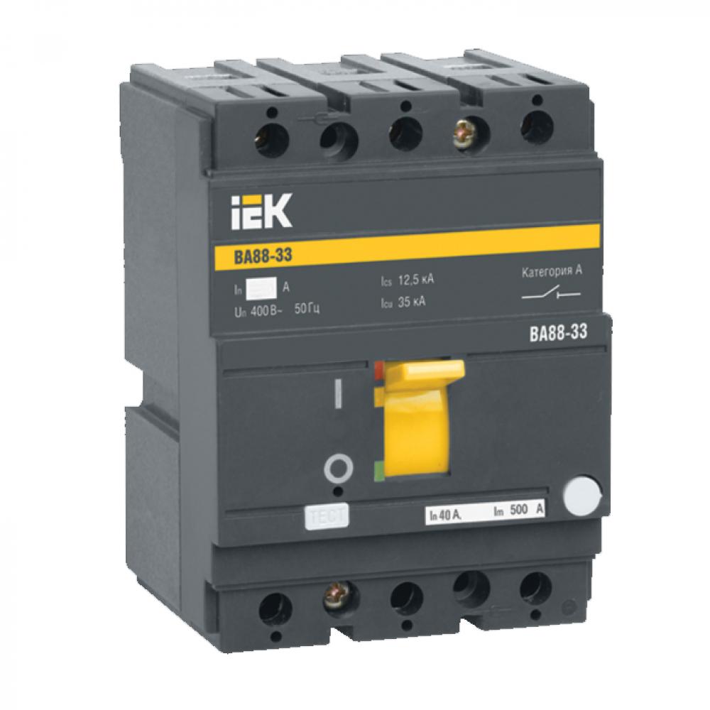 Автоматический выключатель iek ва88-33, 3р, 50а, 35ка sva20-3-0050-r