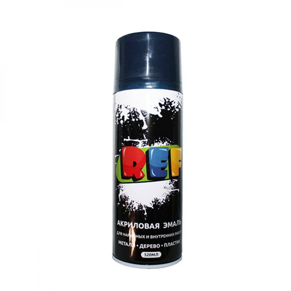 Купить Аэрозольная эмаль ref цвет темно-синий, объем 520 мл 0028r