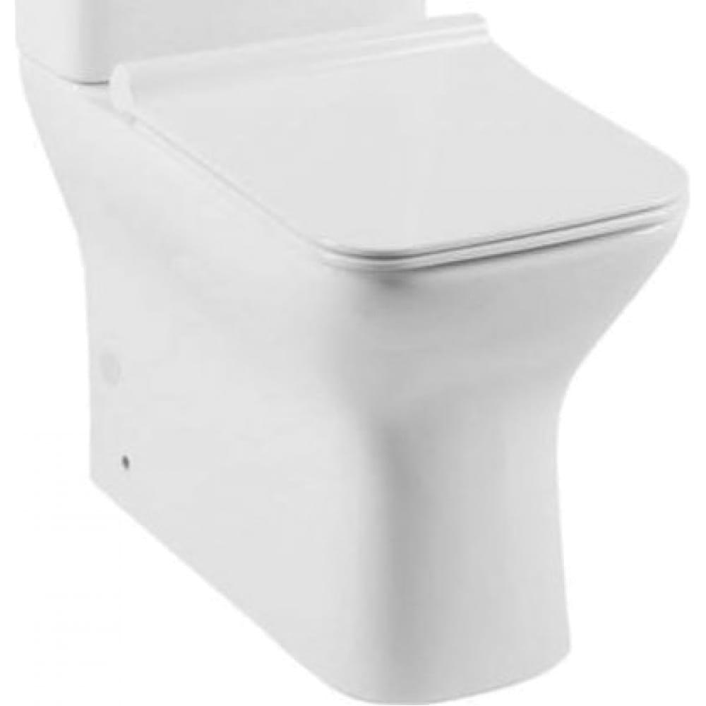 Купить Чаша для напольного унитаза aquanet cube-c с сидением, с rimless 00210759