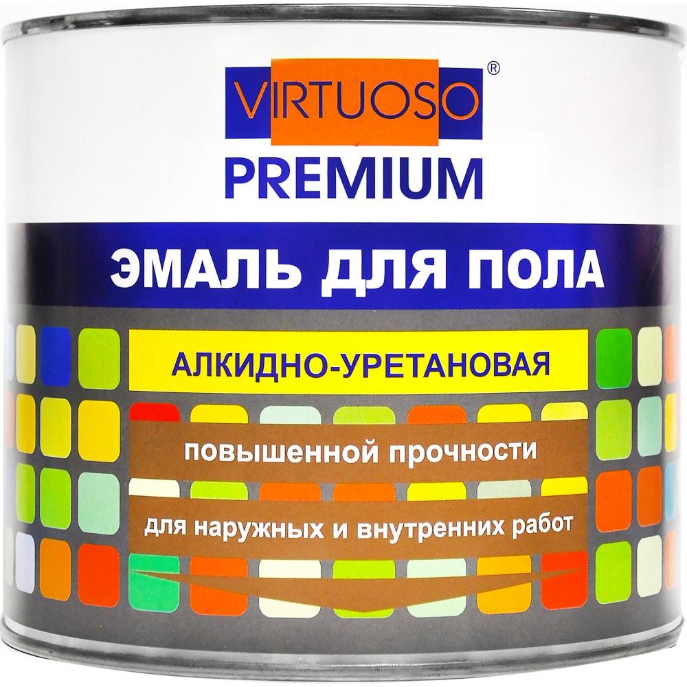 Купить Алкидно-уретановая эмаль для пола virtuoso premium зеленая 1, 9кг 11595980