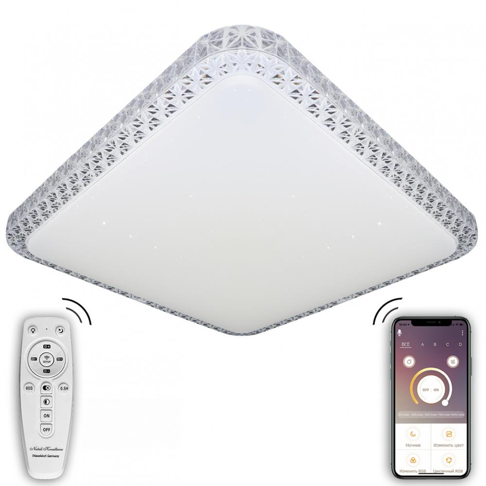 Купить Светодиодный светильник natali kovaltseva (люстра) 120w, белый, led lamps 81080