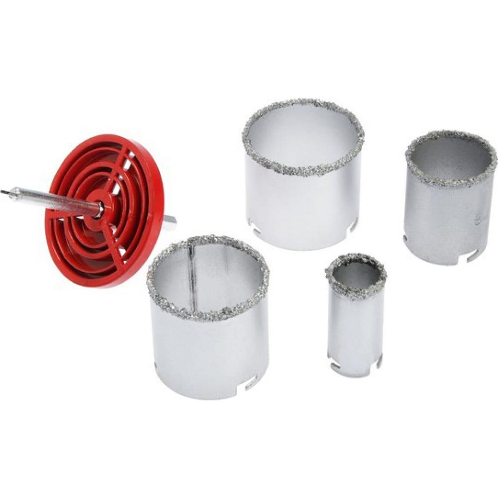 Набор коронок кольцевых по керамике (4