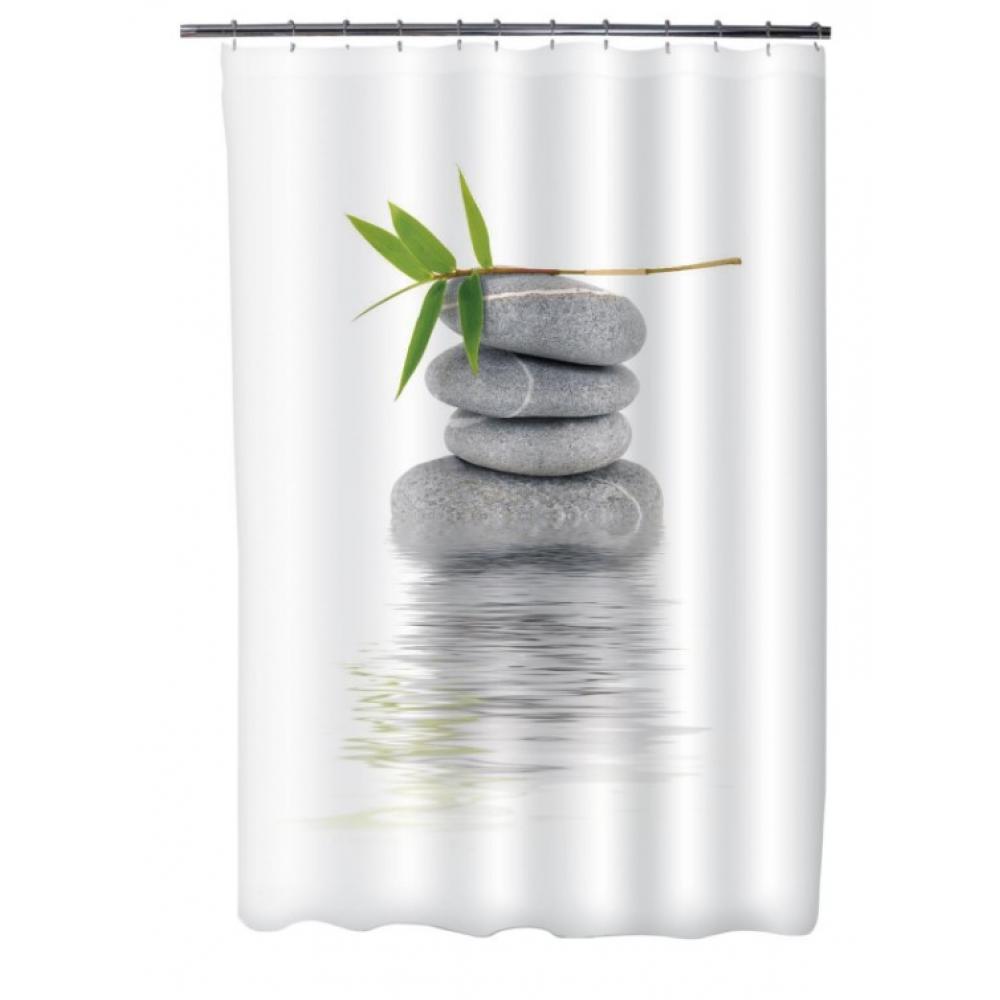 Купить Шторка для ванной fora бамбук на камне ph55