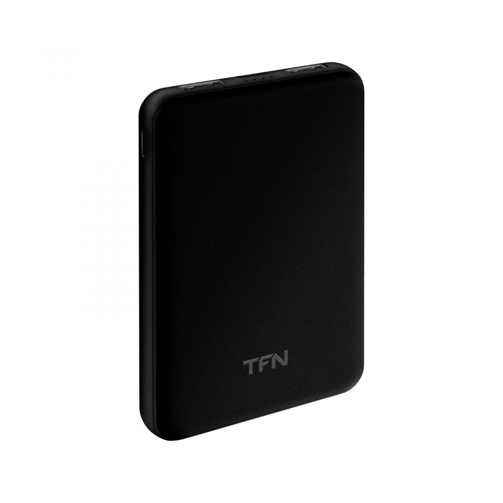 Купить Внешний аккумулятор tfn slimduo 5000mah, черный -pb-201-bk