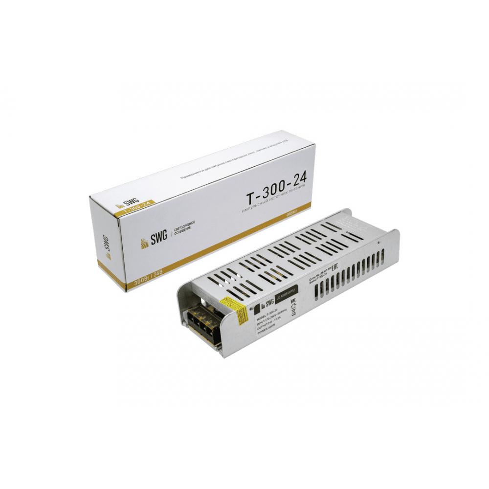 Компактный узкий блок питания swg, 300w, 24v, t-300-24 00-00002901