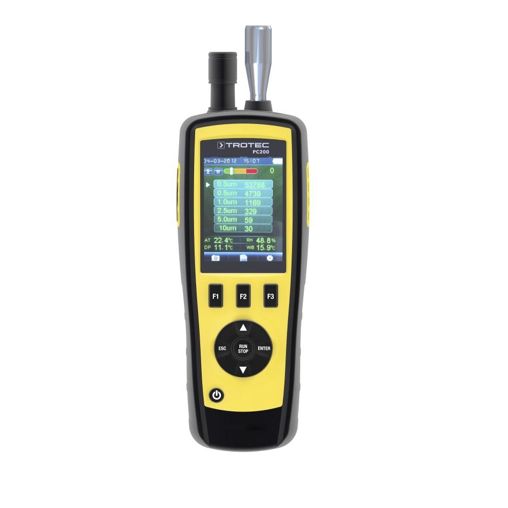 Счётчик пылевых частиц trotec pc200 с протоколом калибровки 3510006011
