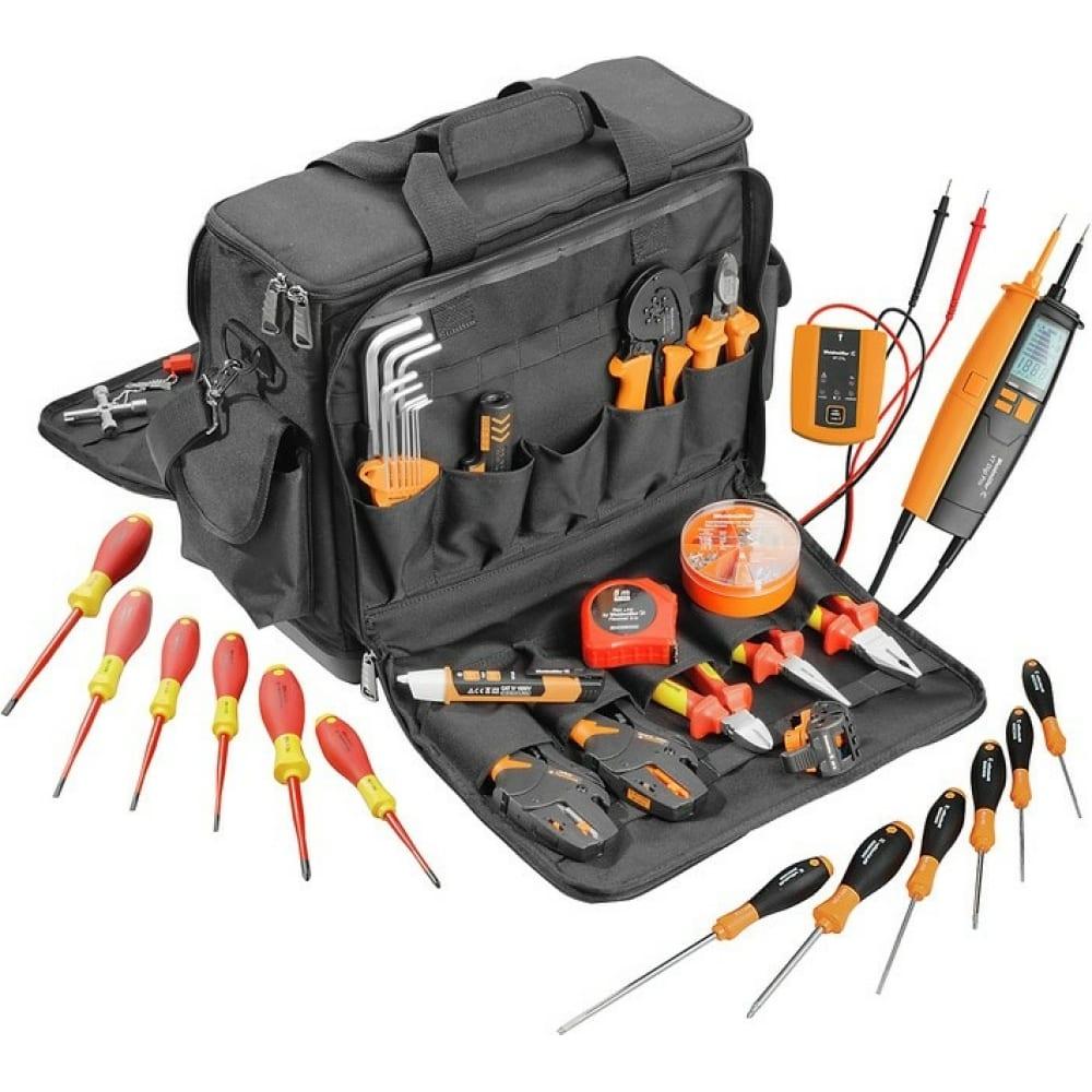 Набор электромонтажного инструмента weidmuller pro case ul в чемодане 2602260000