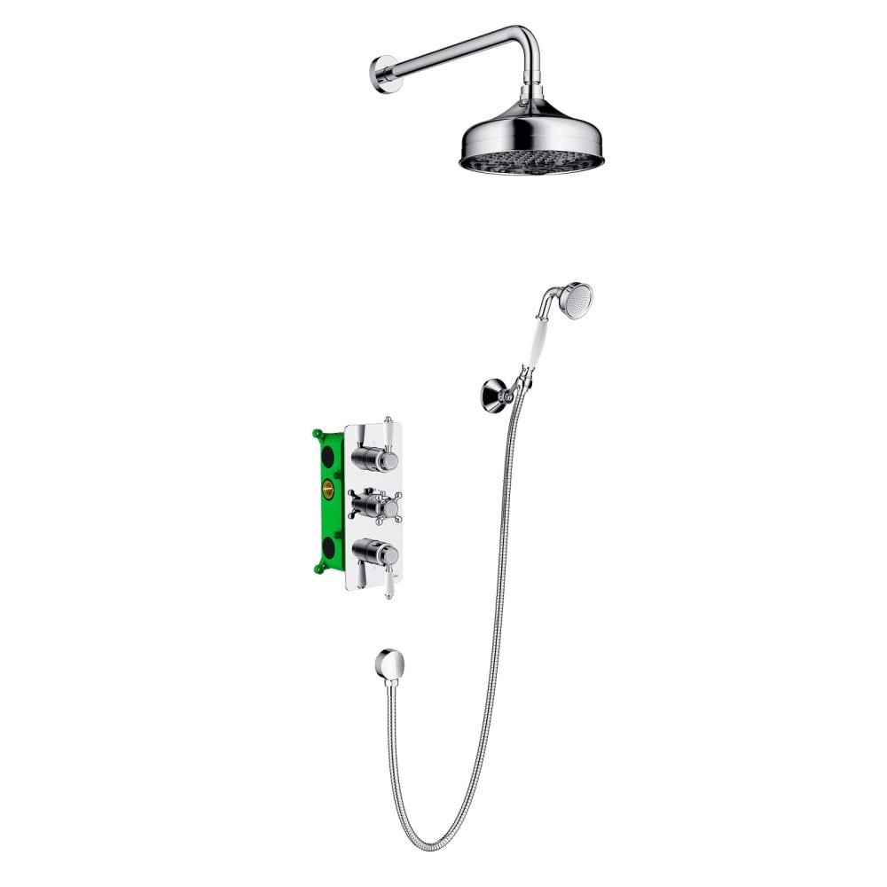 Купить Встроенная душевая система timo с термостатом nelson sx 1390 00sm
