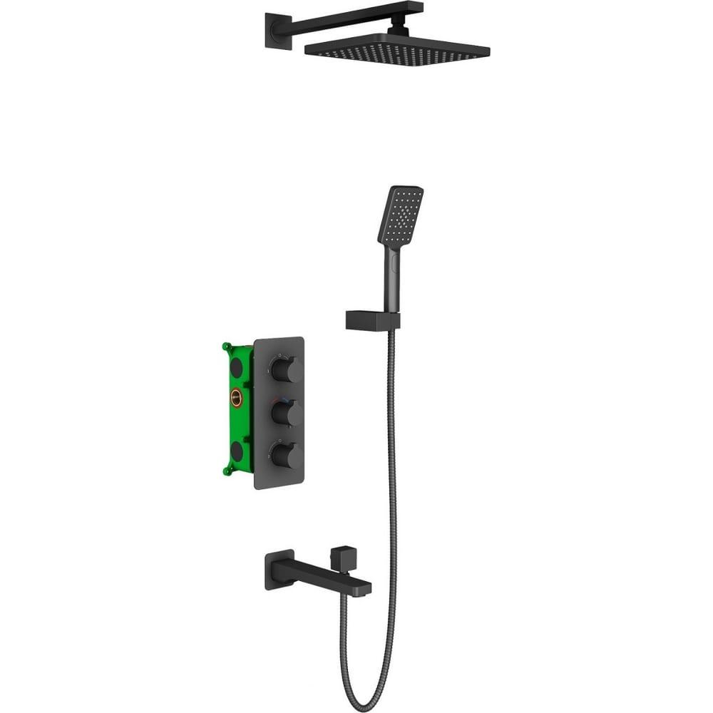Купить Встроенная душевая система timo с термостатом petruma sx 5149 03sm
