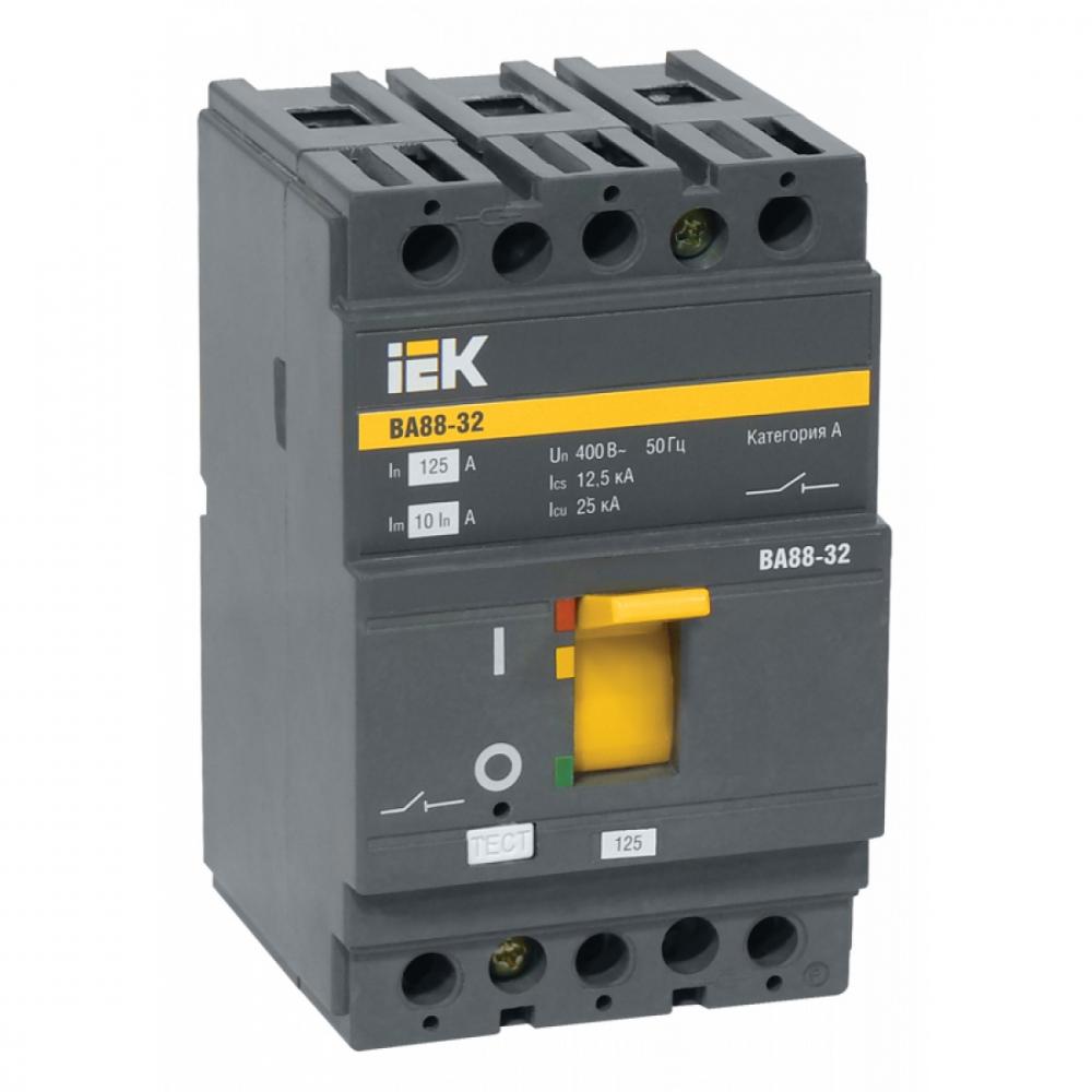 Автоматический выключатель iek ва88-32, 3р, 25а, 25ка sva10-3-0025-r