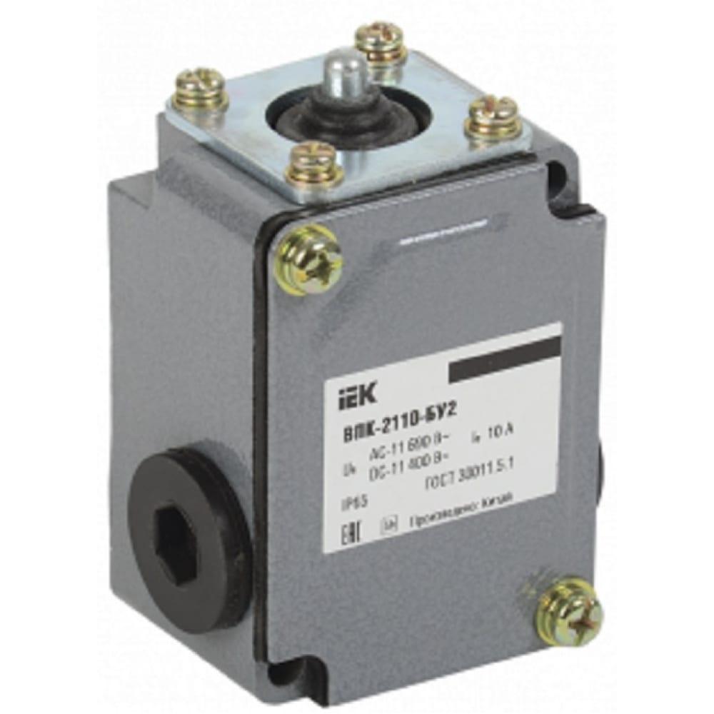 Концевой выключатель iek впк-2110-бу2, толкатель, ip65 kv-1-2110-1