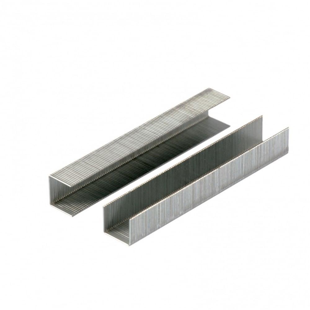 Скобы для мебельного степлера denzel 10 мм, тип 53, 2000 шт 41102
