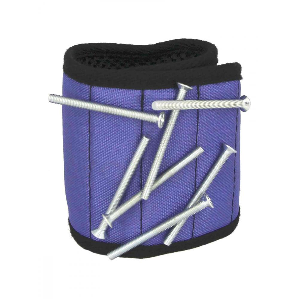 Купить Магнитный браслет с неодимовыми магнитами masterprof, фиолетовый, мр-европодвес, hs.110048