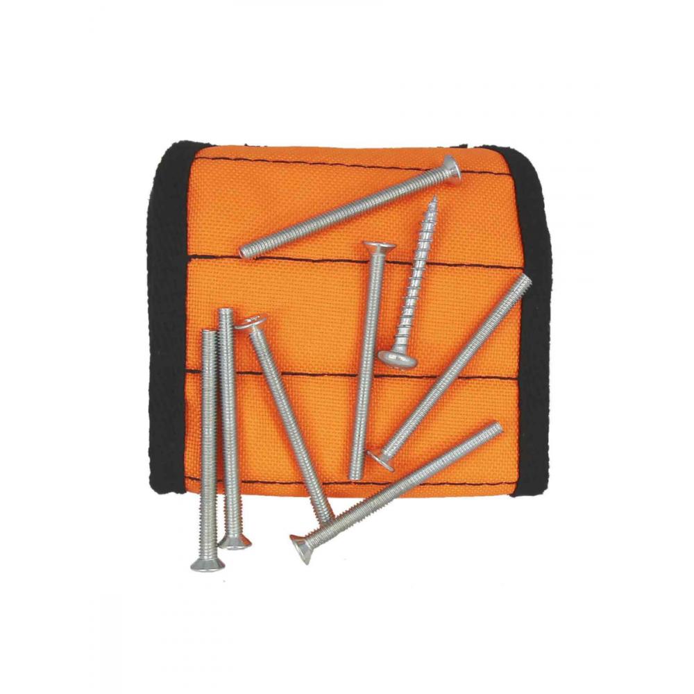 Купить Магнитный браслет с неодимовыми магнитами masterprof, оранжевый, мр-европодвес, hs.110047